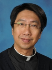 Father Peter Ha serves the St. Gerard's Church community.